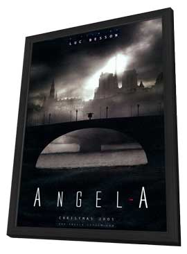 Angel-A - 11 x 17 Movie Poster - Style D - in Deluxe Wood Frame