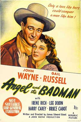 Angel and the Badman - 11 x 17 Movie Poster - Australian Style A