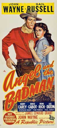 Angel and the Badman - 11 x 17 Poster Australian Style B