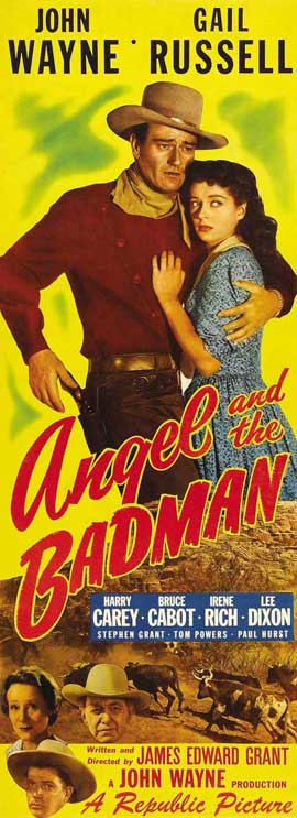 Angel and the Badman - 14 x 36 Movie Poster - Insert Style A