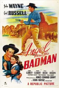 Angel and the Badman - 43 x 62 Movie Poster - Bus Shelter Style A