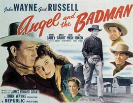 Angel and the Badman - 22 x 28 Movie Poster - Half Sheet Style B
