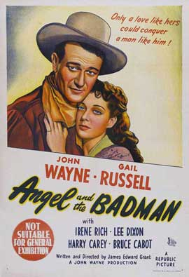 Angel and the Badman - 27 x 40 Movie Poster - Australian Style A