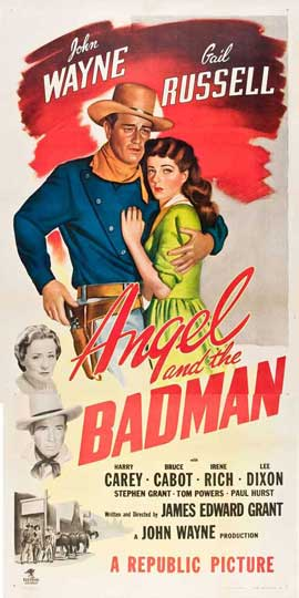 Angel and the Badman - 20 x 40 Movie Poster - Style A