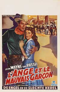 Angel and the Badman - 11 x 17 Movie Poster - Belgian Style B