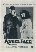 Angel Face - 11 x 17 Movie Poster - Spanish Style A