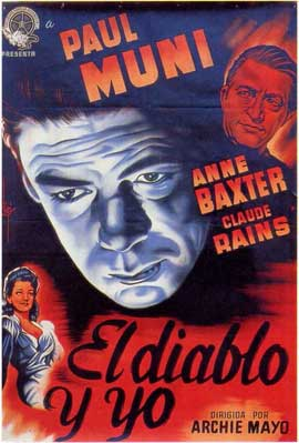 Angel on My Shoulder - 11 x 17 Movie Poster - Spanish Style A