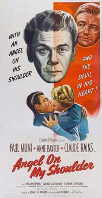 Angel on My Shoulder - 20 x 40 Movie Poster - Style A