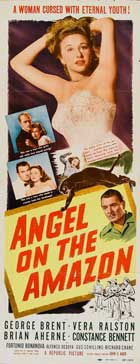 Angel on the Amazon - 14 x 36 Movie Poster - Insert Style A