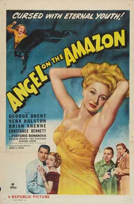 Angel on the Amazon - 27 x 40 Movie Poster - Style A
