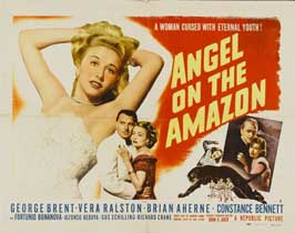 Angel on the Amazon - 22 x 28 Movie Poster - Half Sheet Style A