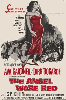The Angel Wore Red - 11 x 17 Movie Poster - Style A