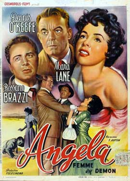 Angela - 11 x 17 Movie Poster - Belgian Style A