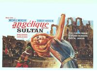 Angelique And The Sultan - 11 x 17 Movie Poster - Belgian Style A