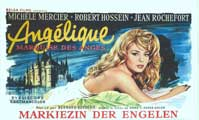 Angelique - 11 x 17 Movie Poster - Belgian Style A