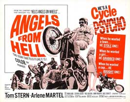 Angels from Hell - 22 x 28 Movie Poster - Half Sheet Style A