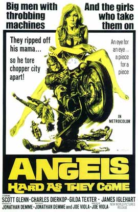 Angels, Hard As They Come - 11 x 17 Movie Poster - Style A