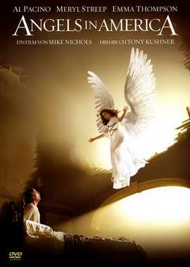 Angels in America - 27 x 40 Movie Poster - German Style A