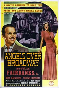 Angels Over Broadway - 11 x 17 Movie Poster - Style A