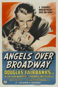 Angels Over Broadway - 11 x 17 Movie Poster - Style B