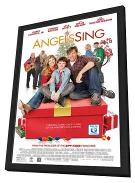 Angels Sing - 11 x 17 Movie Poster - Style A - in Deluxe Wood Frame