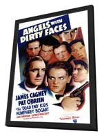 Angels with Dirty Faces - 11 x 17 Movie Poster - Style A - in Deluxe Wood Frame