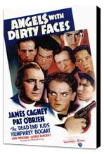 Angels with Dirty Faces - 11 x 17 Movie Poster - Style A - Museum Wrapped Canvas