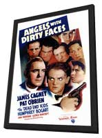 Angels with Dirty Faces - 27 x 40 Movie Poster - Style A - in Deluxe Wood Frame