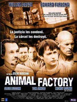 Animal Factory - 11 x 17 Movie Poster - Spanish Style A