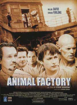 Animal Factory - 11 x 17 Movie Poster - French Style A