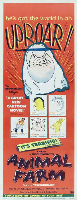 Animal Farm - 14 x 36 Movie Poster - Insert Style A