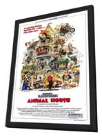 National Lampoon's Animal House - 27 x 40 Movie Poster - Style A - in Deluxe Wood Frame