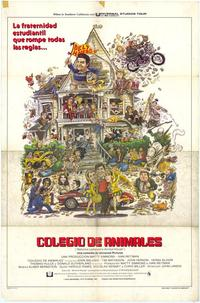 National Lampoon's Animal House - 11 x 17 Movie Poster - Spanish Style A