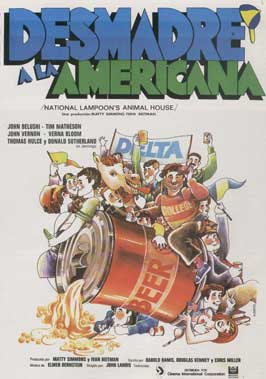 National Lampoon's Animal House - 11 x 17 Movie Poster - Spanish Style B