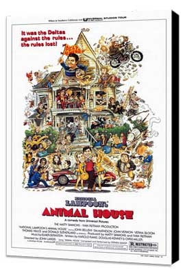 National Lampoon's Animal House - 27 x 40 Movie Poster - Style A - Museum Wrapped Canvas