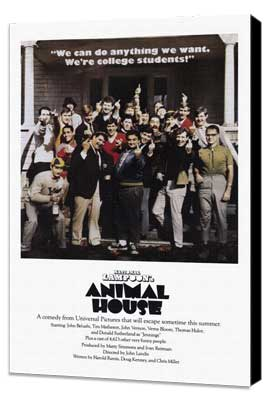 National Lampoon's Animal House - 27 x 40 Movie Poster - Style G - Museum Wrapped Canvas