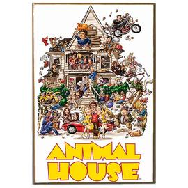 National Lampoon's Animal House - Movie Poster Wood Wall Artwork