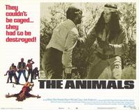 The Animals - 11 x 14 Movie Poster - Style H