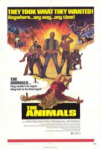 The Animals - 27 x 40 Movie Poster - Style A