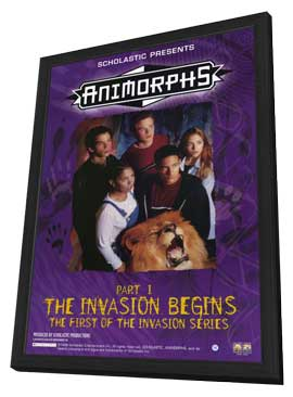 Animorphs - 11 x 17 Movie Poster - Style A - in Deluxe Wood Frame