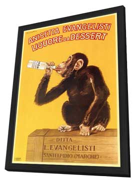 Anisetta Evangelisti - 11 x 17 Movie Poster - Style A - in Deluxe Wood Frame