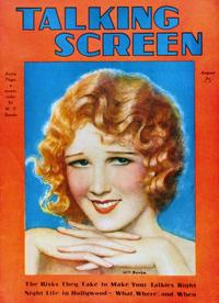 Anita Page - 11 x 17 Talking Screen Magazine Cover 1930's