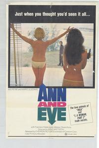 Ann and Eve - 27 x 40 Movie Poster - Style A