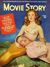 Ann Blyth - 11 x 17 Movie Story Magazine Cover 1940's