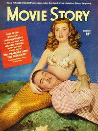 Ann Blyth - 27 x 40 Movie Poster - Movie Story Magazine Cover 1940's