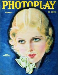 Ann Harding - 27 x 40 Movie Poster - Photoplay Magazine Cover 1930's Style A