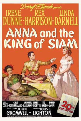 Anna and the King of Siam - 11 x 17 Movie Poster - Style A