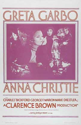 Anna Christie - 11 x 17 Movie Poster - Style B