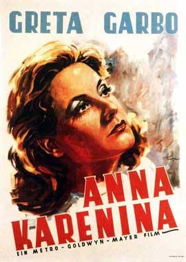 Anna Karenina - 11 x 17 Movie Poster - German Style B