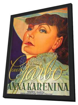Anna Karenina - 11 x 17 Movie Poster - German Style A - in Deluxe Wood Frame